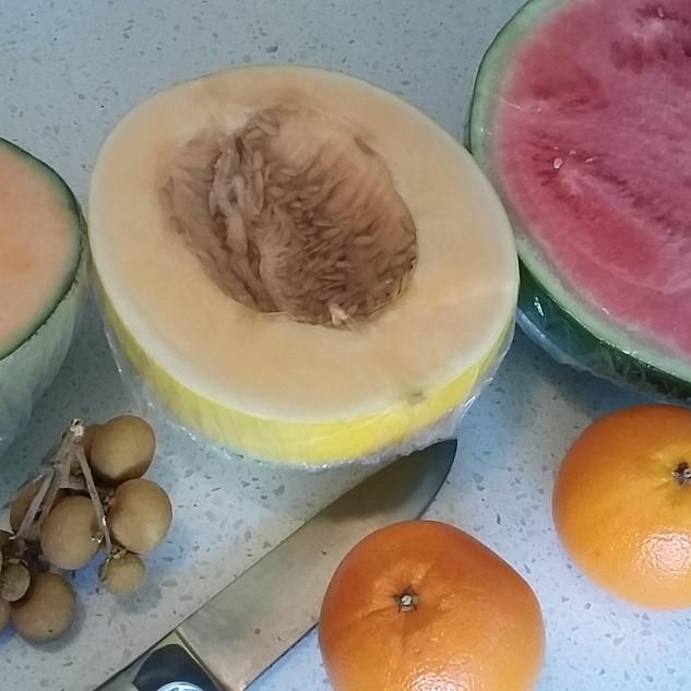 Rock Melon, Honey melon & Water melon
