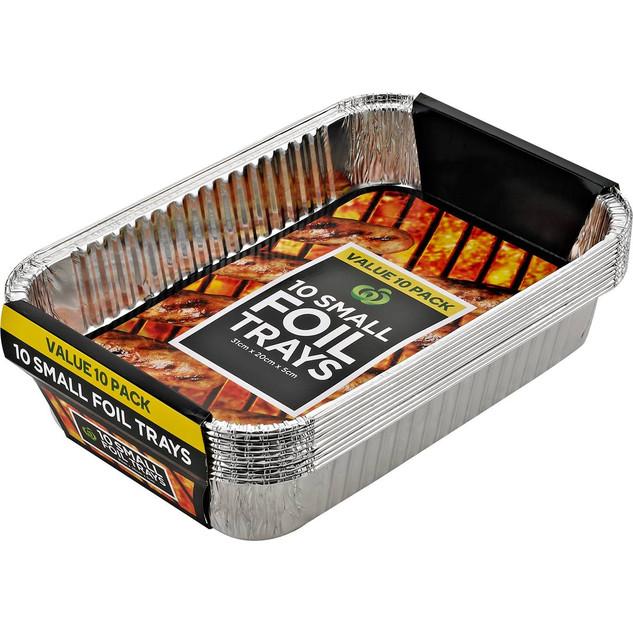 Small BBQ foil trays