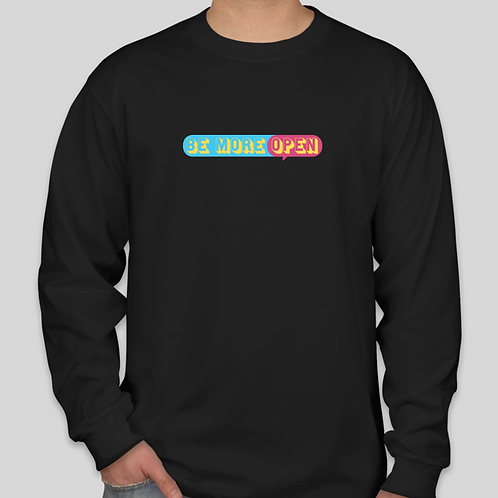 Be More Open Long Sleeve-T