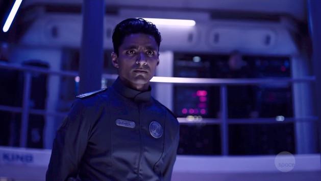 The Expanse as Lt. Boyer