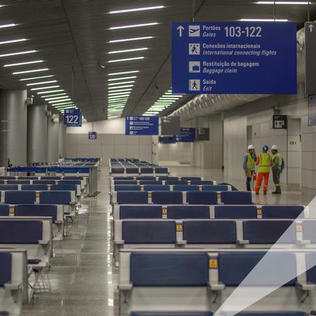 Construtora garante conclusão do terminal do Salgado Filho até novembro.