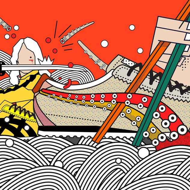 Illustration for ADay_Onitsuka Tiger