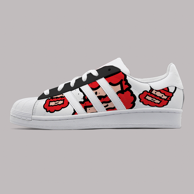 Personal Work_Custom shoe Adidas_3