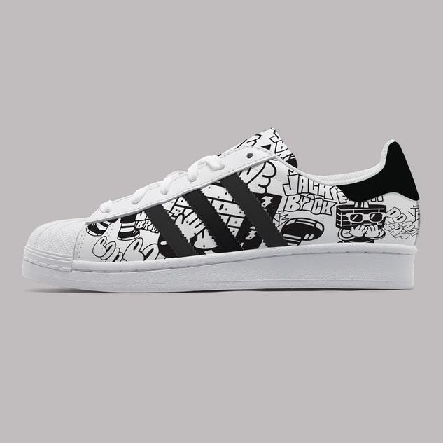 Personal Work_Custom shoe Adidas_1