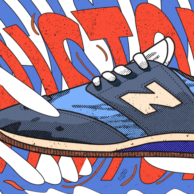 Illustration for ADay_NewBalance Story