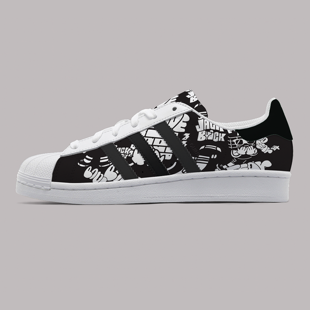 Personal Work_Custom shoe Adidas_2