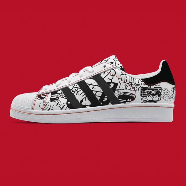 Personal Work_Custom shoe Adidas_4