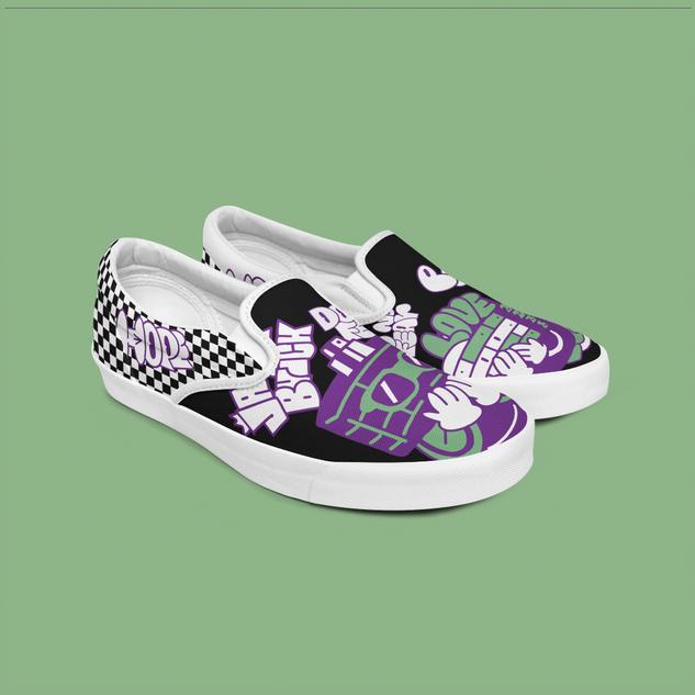Personal Work_Custom Shoe Vans 2