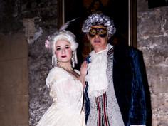 Mascarada Barroca-Carnaval 2018-Palacio Dalmases-Kriminal Kabarett & Hendrick's Congress for Curious People-Fotos José Manuel Puyo