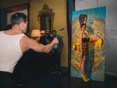 Surrealist Ball - Carnival 2016 Madrid - Palacio Duarte - Kriminal Kabarett & Hendrick's Congress for Curious People