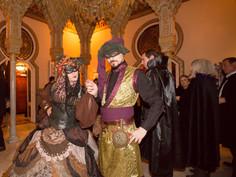 Bal Oriental, Carnaval 2017-Villa Hispanoárabe-Kriminal Kabarett & Hendrick's Congress for Curious People - Fotos Ferney Alonso