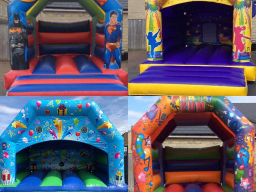 Areas covered for bouncy castle hire