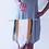 Thumbnail: Small Navy and Mustard Tapestry