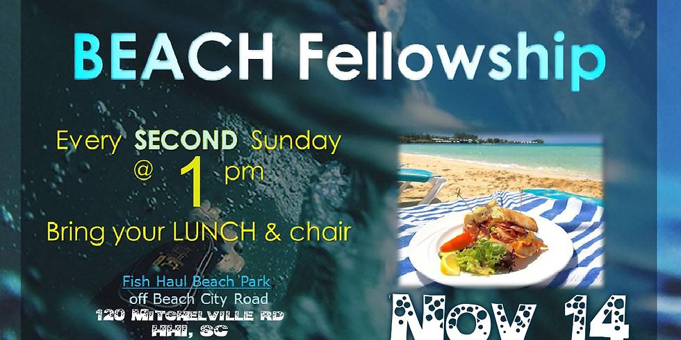 BEACH Fellowship @ Fish Haul Beach Park.