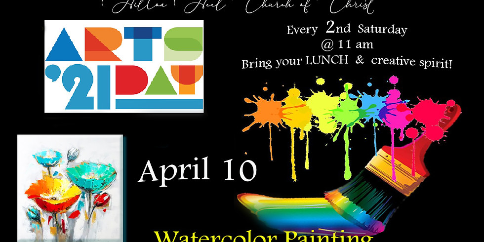 Art's DAY  ~  Watercolor Painting