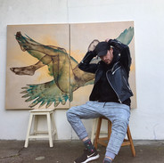 Rémi Segalas la Salonul artiștilor francezi