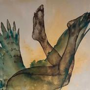 Rémi Segalas en el Salón de los artistas franceses