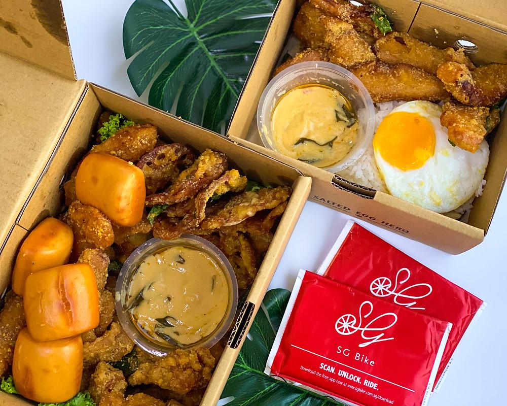 Takeaway food, Xian Dan Chao Ren