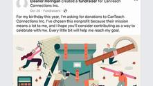Successful Facebook Fundraiser for CanTeach