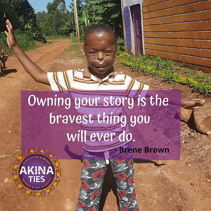 Owning your story is the bravest thing y