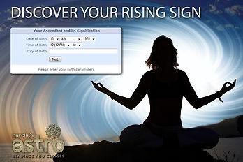 Horoscope rising sign ascendant sign