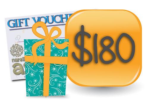 Gift Voucher - $180