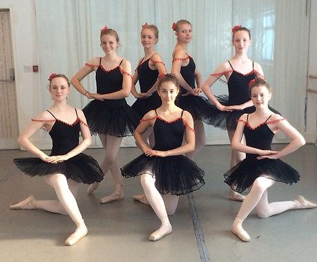 Kathy Davies Dance ballet students