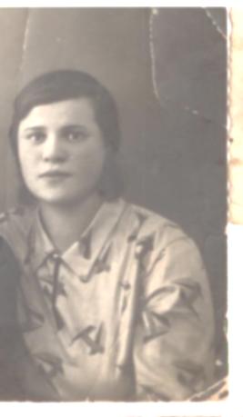 Миронова Ольга Ивановна 1907,моя бабушка