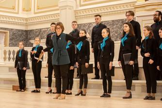 Студенты петербургских вузов исполнили хоровые композиции в государственной академической капелле