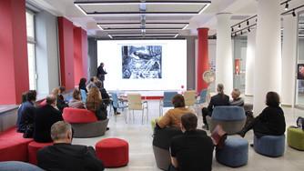 В СПбГУПТД обсудили проблемы и перспективы монументальной живописи и скульптуры
