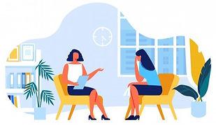 psychologue-communique-client-vecteur_82