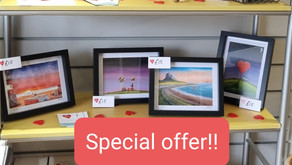 Special Offers - Framed Prints & Tote Bags!