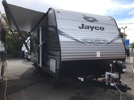 Jayco Jay Flight SLX 212QBW 2021年モデル展示車入庫