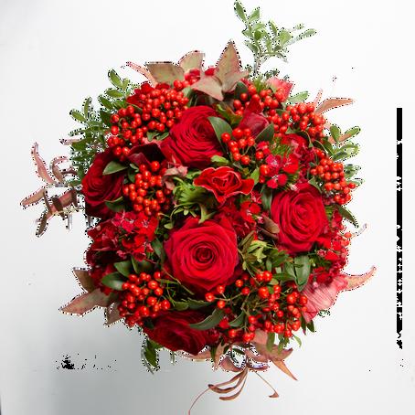 Les bouquets de la muse : collection de Noël
