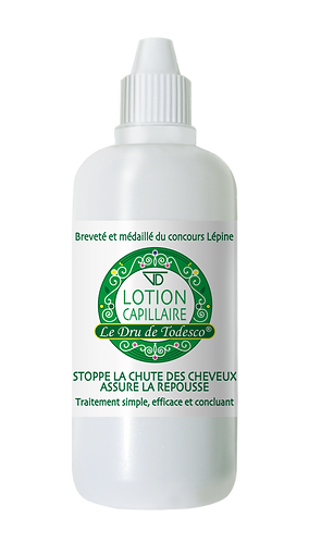 Lotion capillaire n°1 :  60 ml