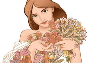 Logo-Les bouquets de la muse-Paris 14