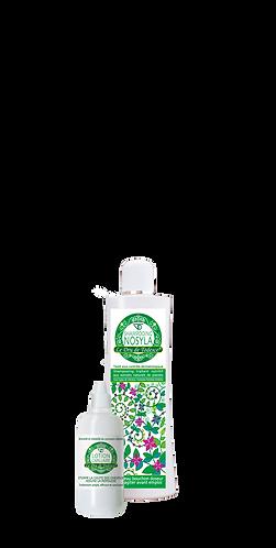 1 lotion capillaire (soin n°1) 60 ml + 1 shampooing 200 ml