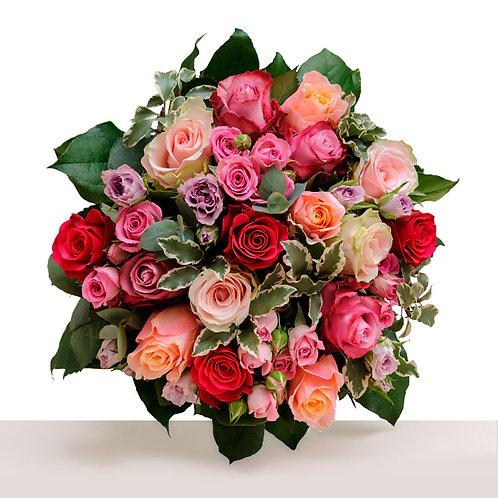 Livrer un bouquet de roses