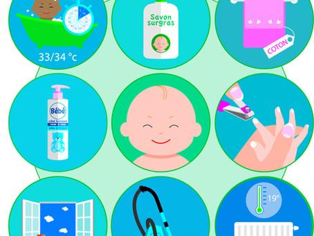 Fiche conseil  : eczéma de bébé