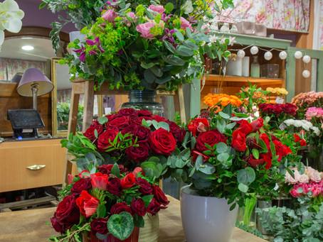 Artisan fleuriste à Paris:                                       les bouquets de la muse