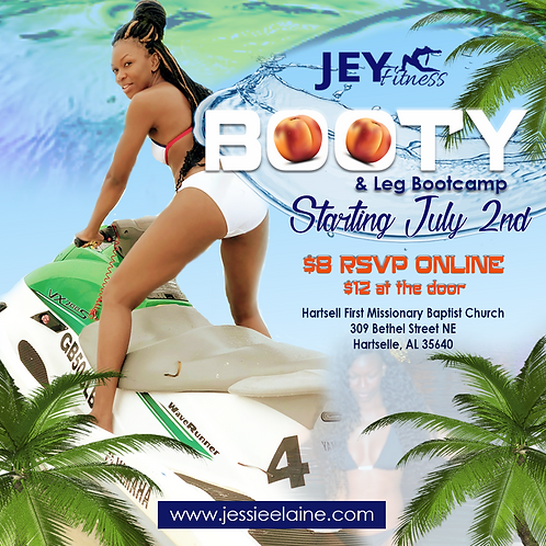 JEY Fitness Booty & Leg Bootcamp