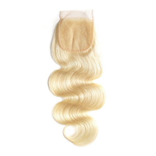 Blonde Bodywave Closure