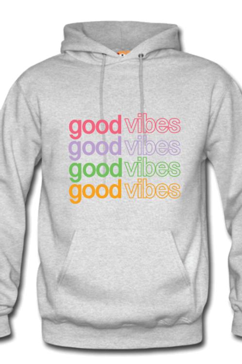 Good Vibes Multi color Hoodie