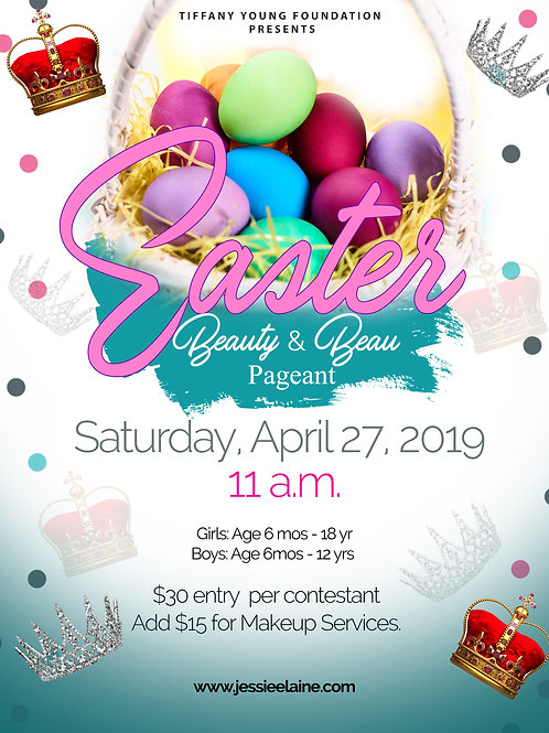 TYF Easter Beauty & Beau Pageant