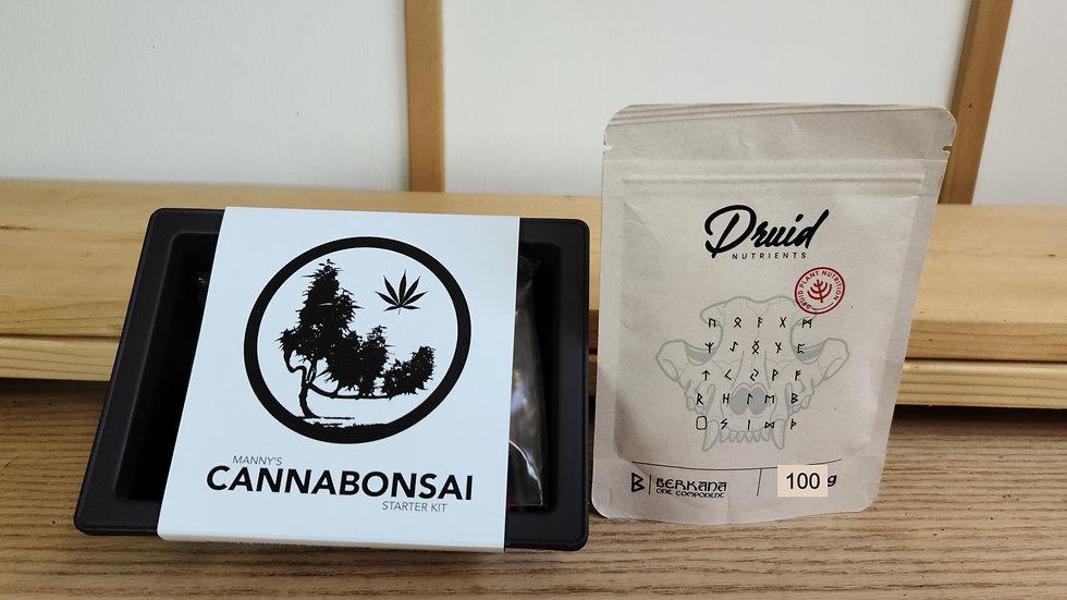 Bonsai Starter Kit + Druid Nutrients + E-Book