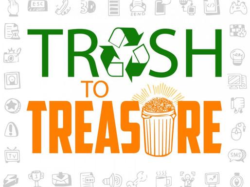 """Artist Transforms Trash Into Treasure"""