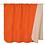 Thumbnail: Kuschelige hochwertige Decke - orange/beige