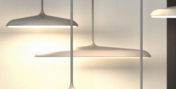 Pendelleuchte in schwarz, grau, kupfer oder creme - 25cm