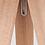 Thumbnail: Trendige Dreibeinleuchte - Schirm weiss