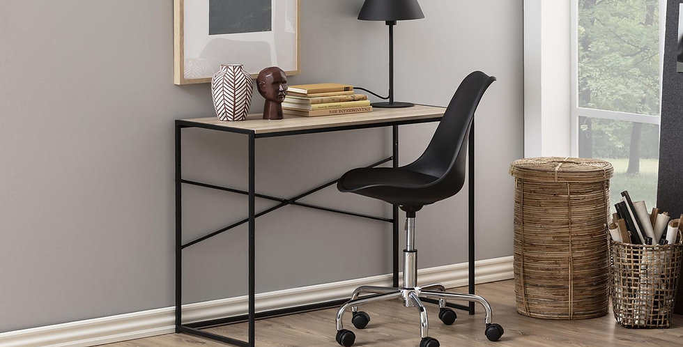 Schreibtisch aus Wildeiche Nachbildung